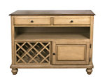 Brook Buffet w/ Wine Storage