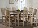 Brook 9-pc. Counter Height Dining Set