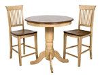 Brook 3-pc. Bar-Height Dining Set