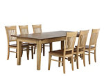 Brook 7-pc. Dining Set w/ Fancy Chairs