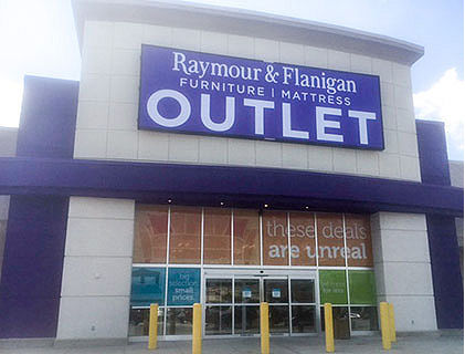 Located Near The Christiana Mall, This Raymour U0026 Flanigan Outlet Is Easily  Accessible From Wilmington. Stop By And Satisfy All Your Furniture Needs.