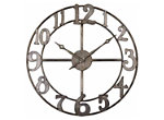 Delevan Metal Wall Clock