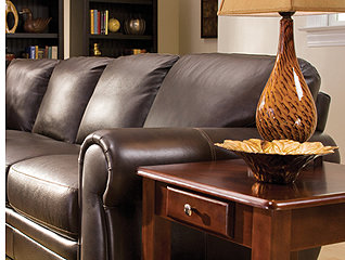 Decorating Ideas for Your Living Space with Leather, Microfiber