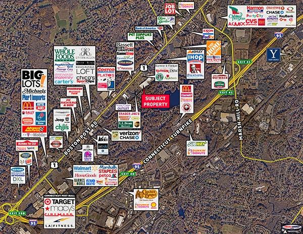 Retail Property Orange, Connecticut