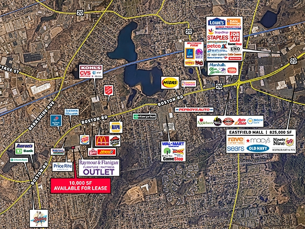 Retail Property Springfield, Massachusetts