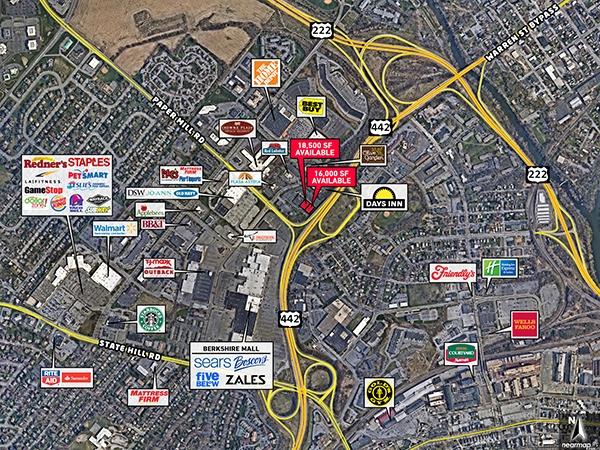 Retail Property Wyomissing, Pennsylvania